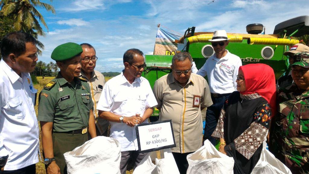 Kementan Sergab Hasil Panen di Banten