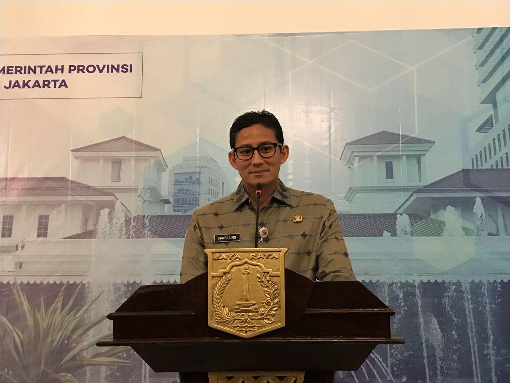 Sandi Siap Didemo terkait Kenaikan UMS Jakarta 2018