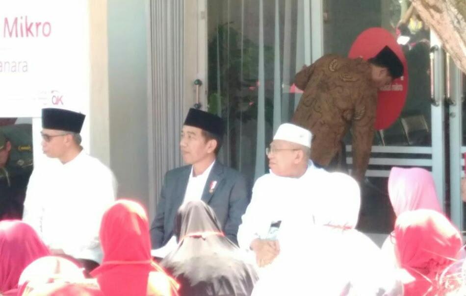 Presiden bakal Perbanyak Donatur Bank Wakaf Mikro