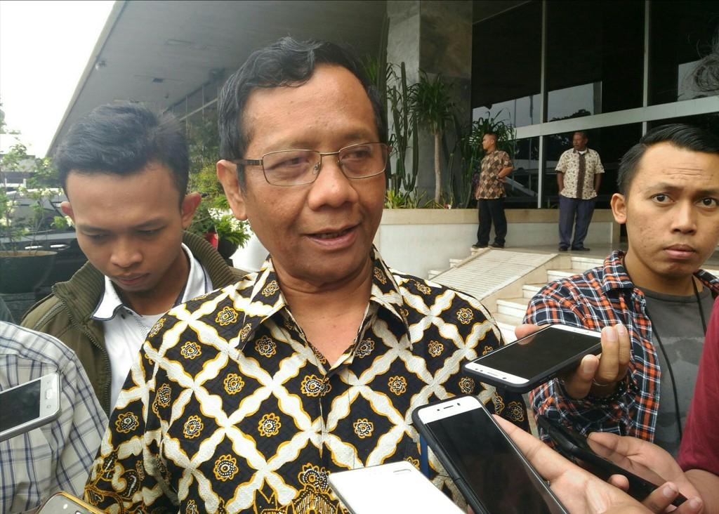 Mahfud Mulai Berkomunikasi dengan Parpol Pendukung Jokowi
