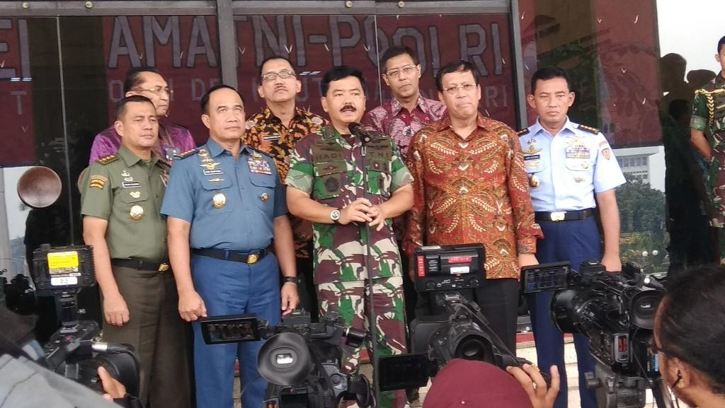Panglima TNI Siap Jelaskan Kecelakaan Tank ke Komisi I