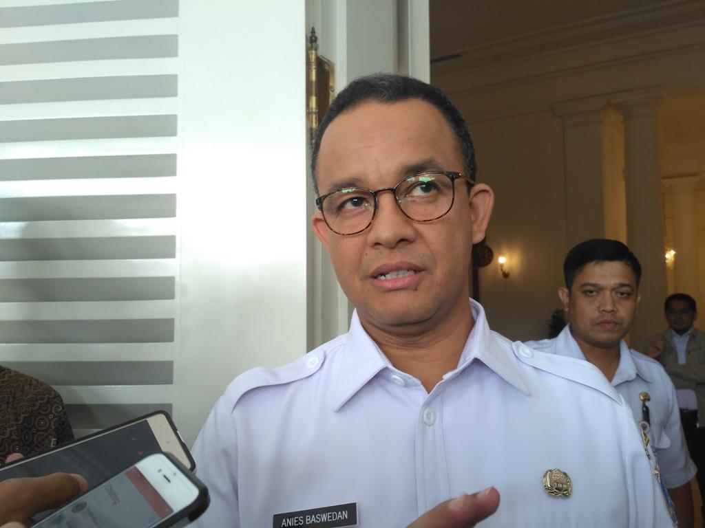 Anies Ogah Jelaskan Instruksi Penutupan Jatibaru