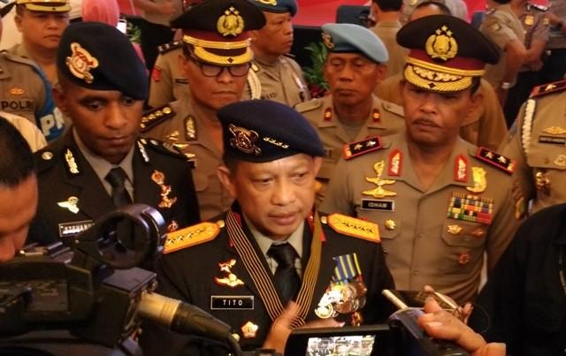 Tito Hindari Anggapan Polri Berpolitik