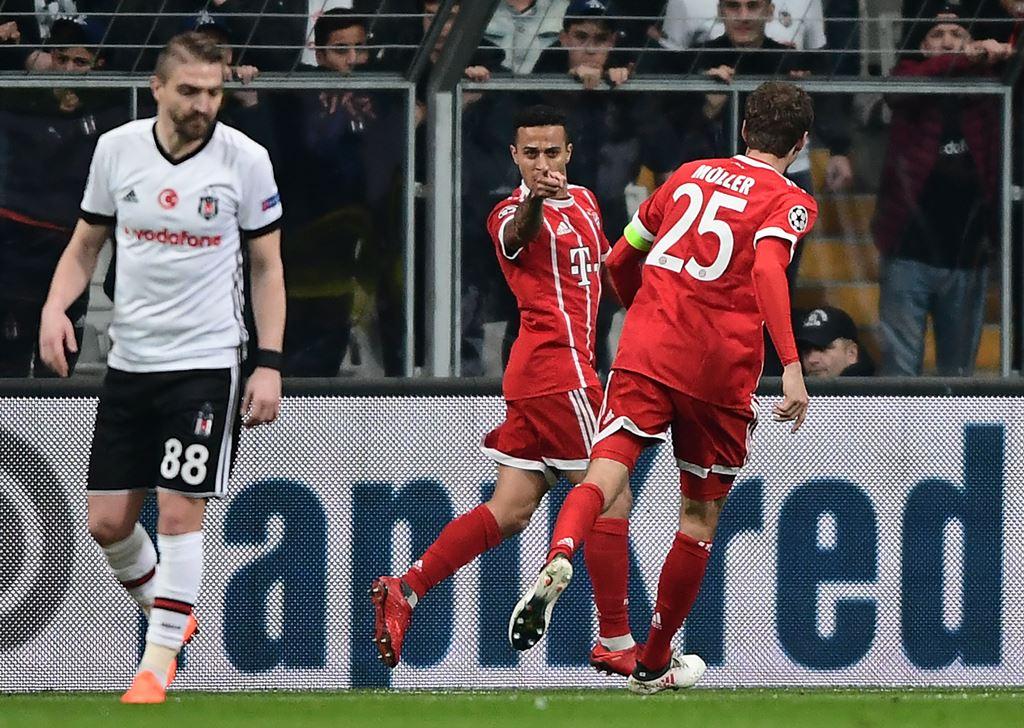 Bayern Muenchen Terlalu Perkasa atas Besiktas