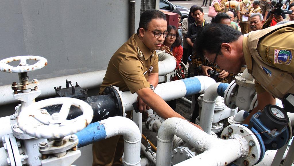 Sibuk Sidak, Sanksi Pencuri Air Tanah Belum Dibuat