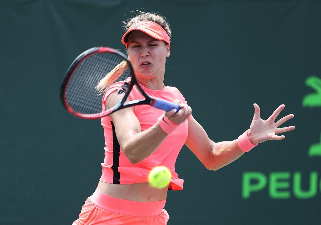 Eugenie Bouchard Lalui Rintangan Pertama di Miami Open
