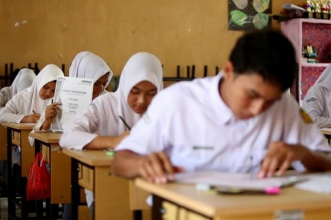 1.485.302 Siswa Ikut Ujian Nasional