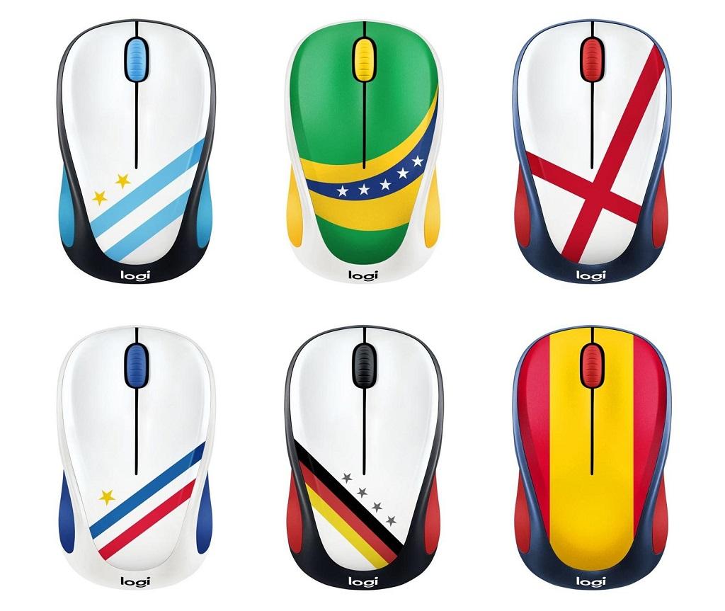 Sambut Piala Dunia Logitech Sediakan Mouse Bendera Negara