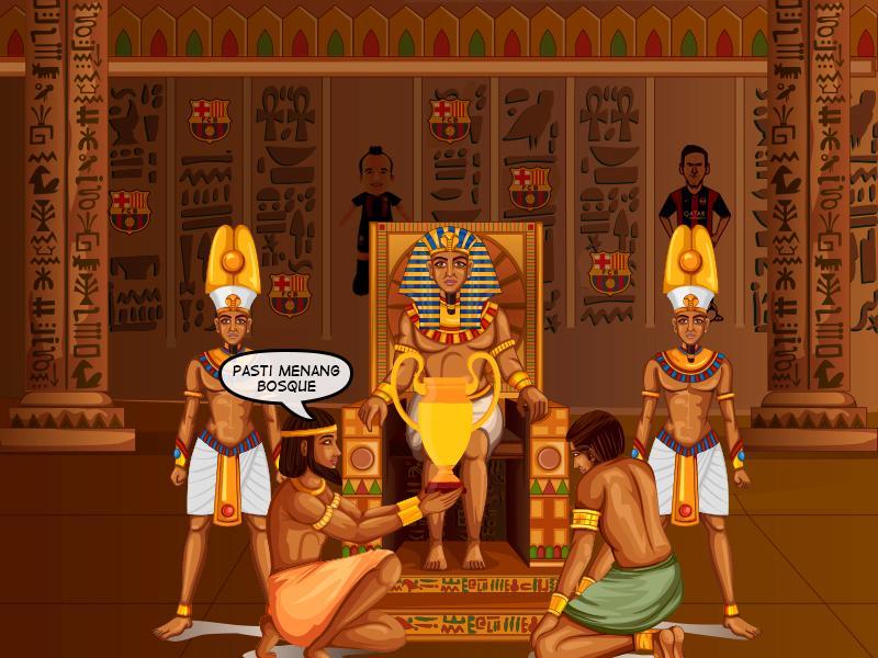 Renungan Fan Barca Tobat Jadi Firaun Sepak Bola