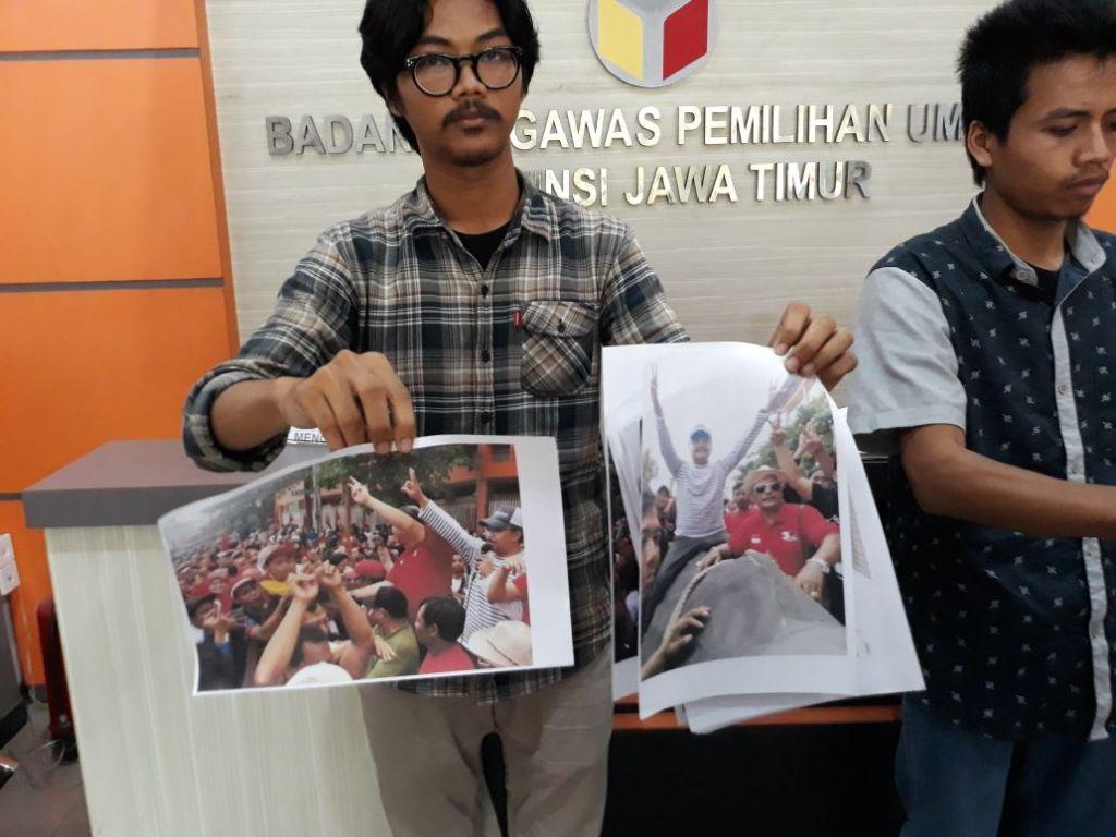 Gus Ipul-Puti Dilaporkan ke Bawaslu Jatim