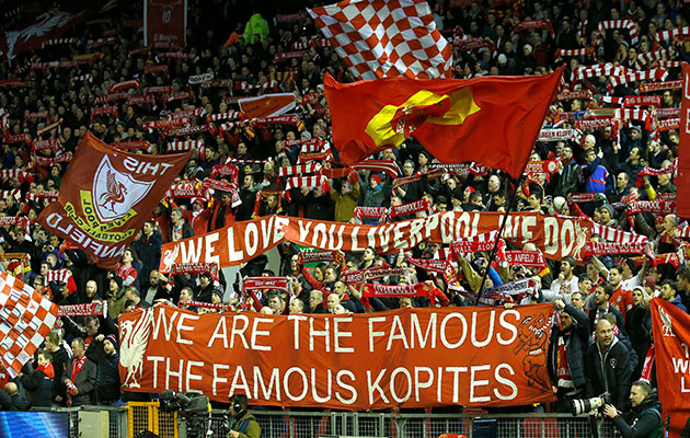 Suporter Liverpool Paling Berisik di Liga Inggris