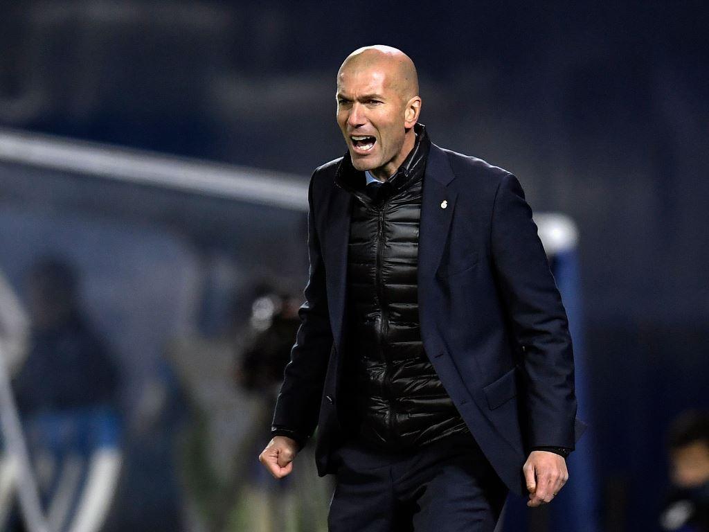 Zidane Tidak Terima Madrid Disebut