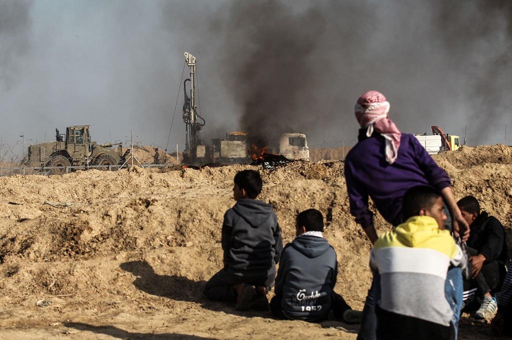 Israel Hancurkan Terowongan Gaza yang Menembus Perbatasan