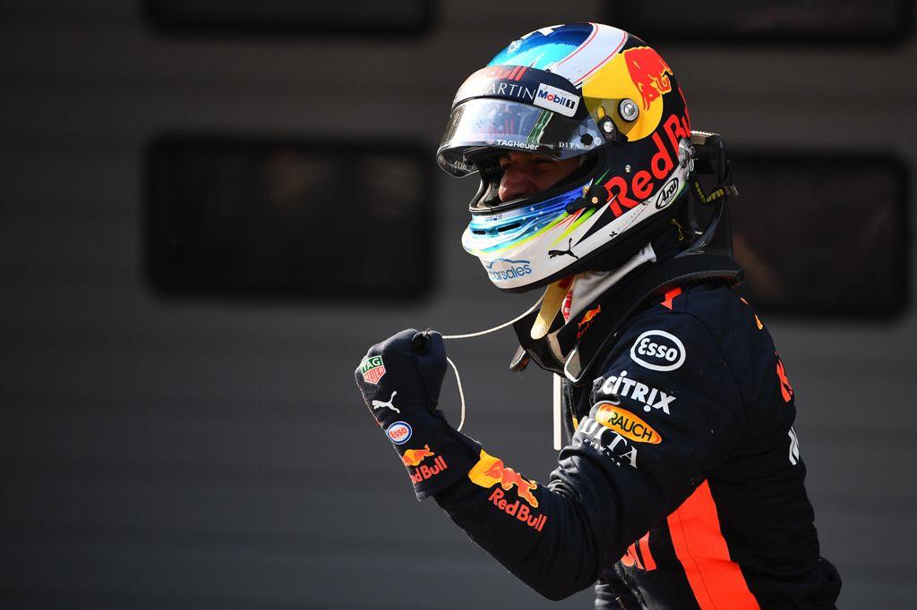 Naik Podium Utama, Ricciardo Puji Para Mekanik Red Bull