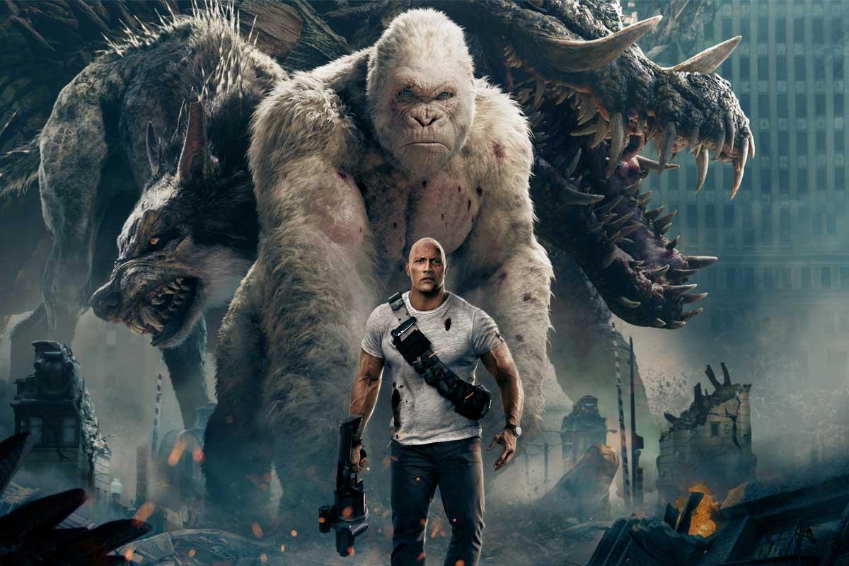 Film Terbaru Dwayne Johnson Pimpin Box Office
