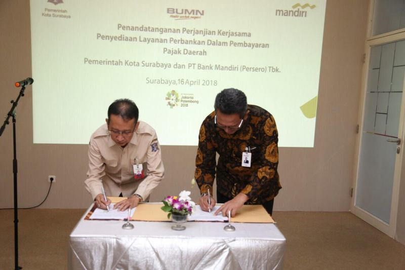 Delapan Jenis Pajak Surabaya Bisa Dibayar Via <i>Online</i>