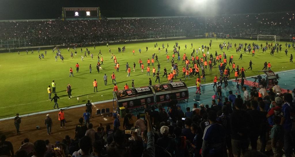 Kapolres Malang: Kejadian di Stadion Itu Kericuhan, bukan Kerusuhan