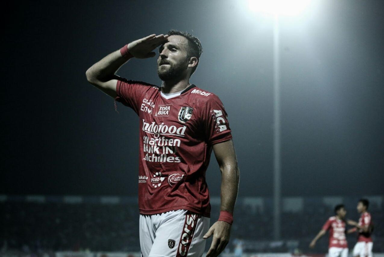 Gol Perdana Spasojevic Selamatkan Bali United dari Kekalahan