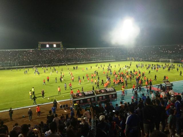 Buntut Ricuh, Stadion Kanjuruhan Mengalami Kerugian Kecil