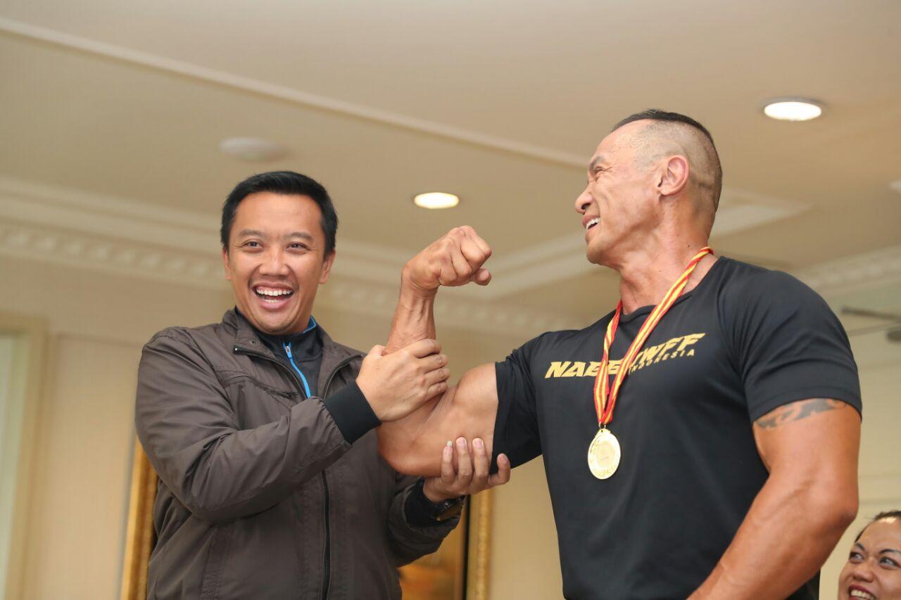 Raih Tujuh Medali di Singapura, Perbafi Diapresiai Menpora