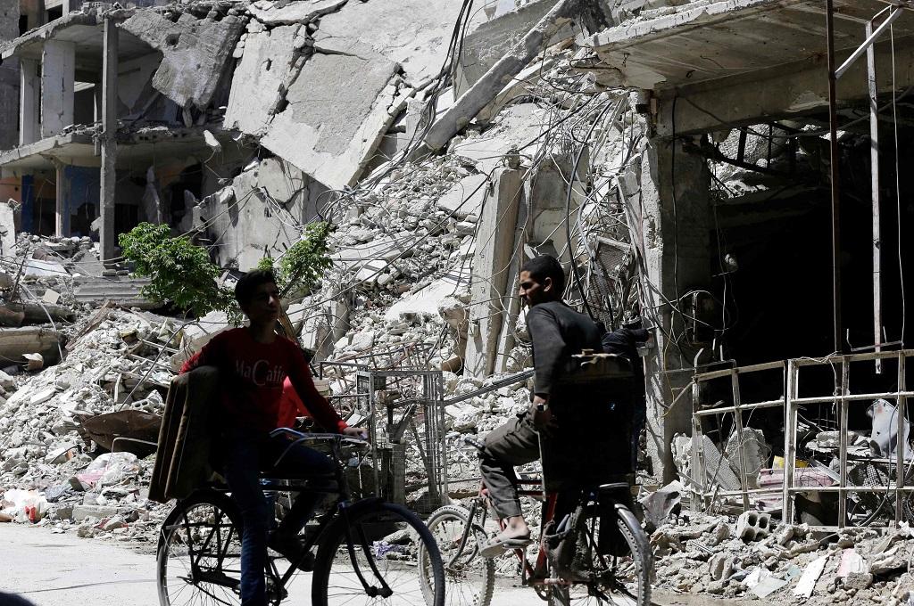 Jelang Kedatangan OPCW, Bom Mobil Meledak di Douma