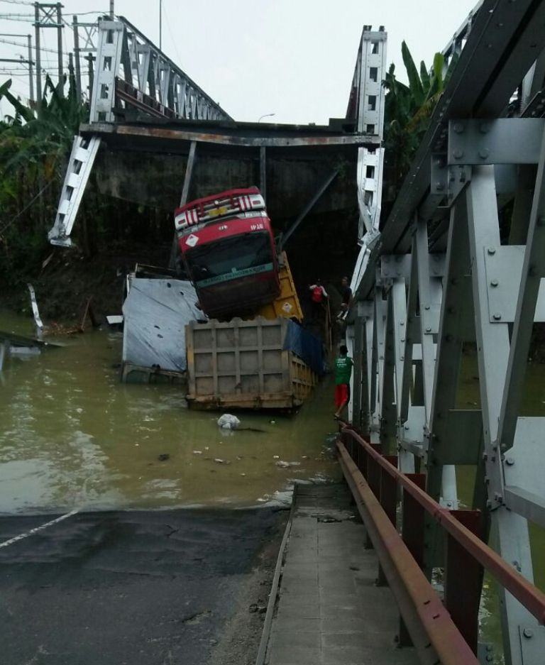 Kapolda: Jembatan Widang Sudah Tua