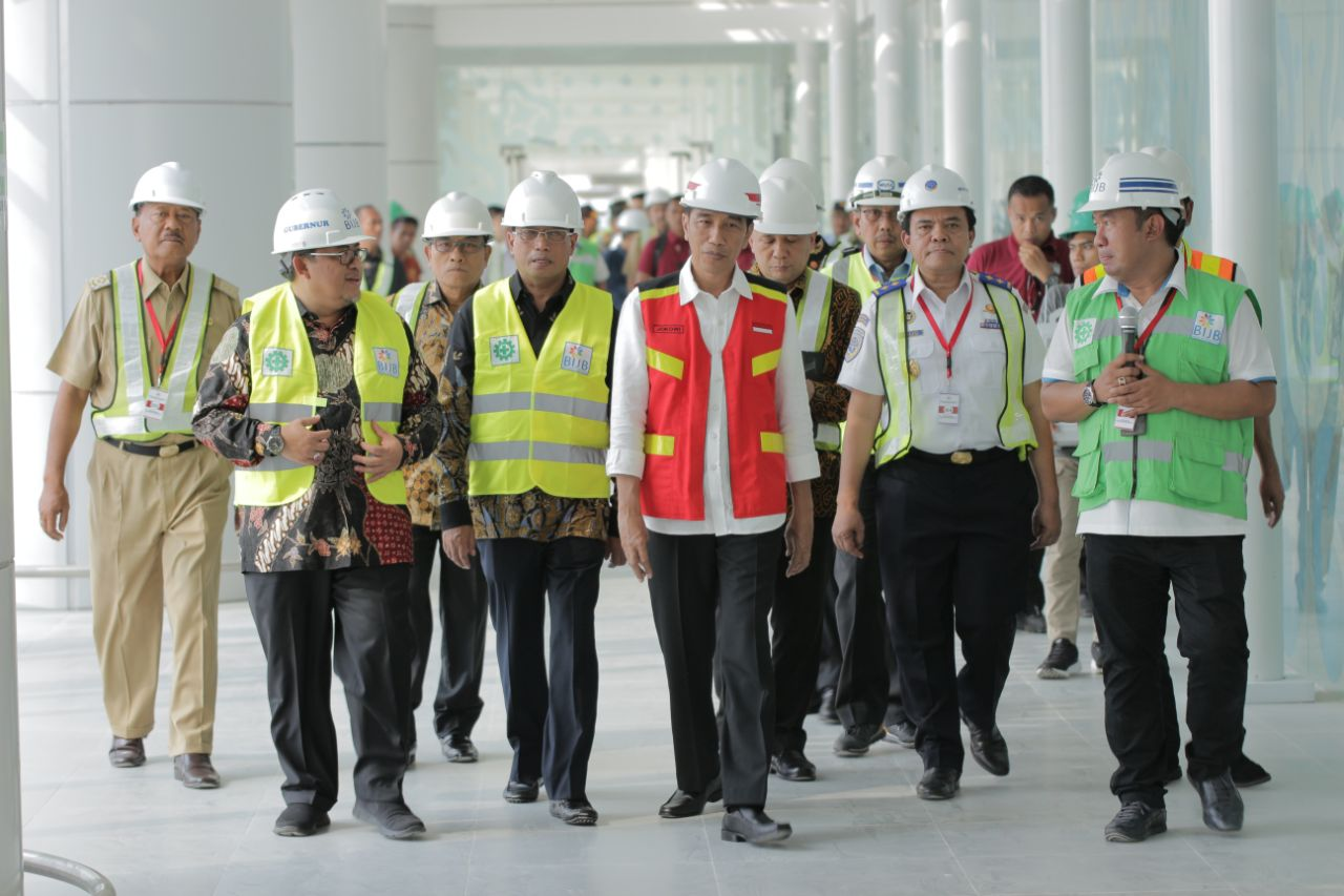 Jokowi Puas Pembangunan BIJB Tanpa Dana Pemerintah