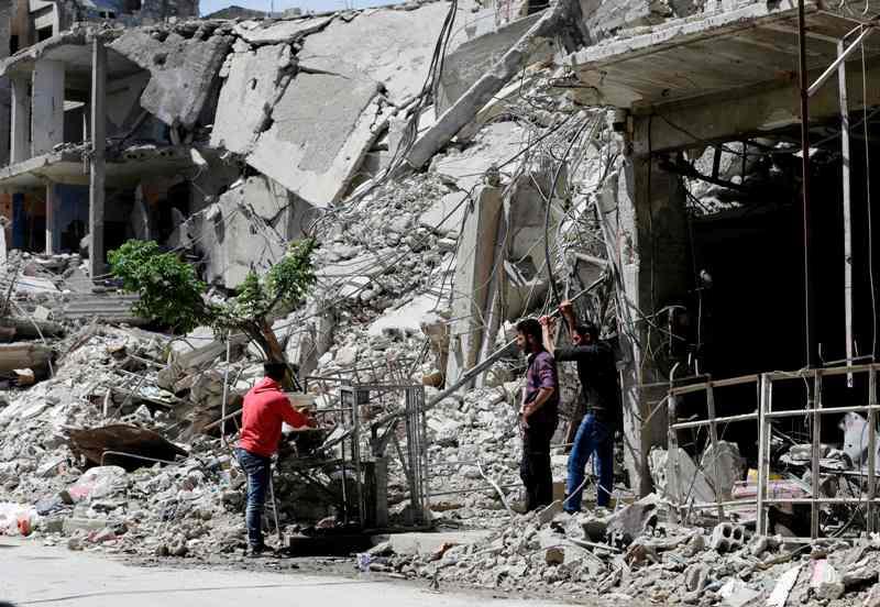 AS Simpulkan Suriah Gunakan Klorin untuk Serang Douma