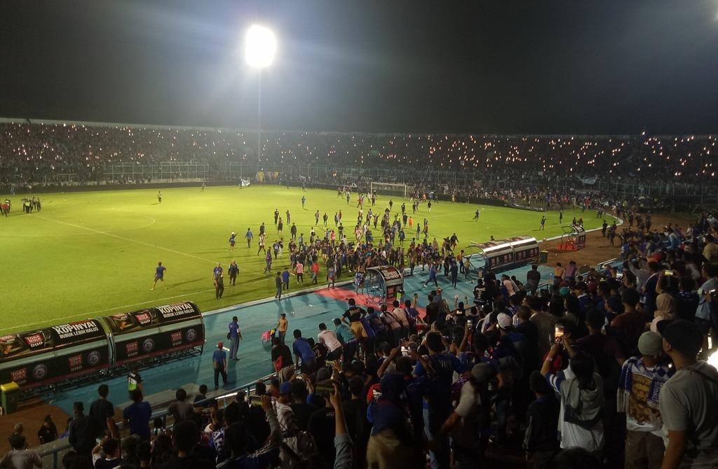 Arema FC Terima Bila Dapat Sanksi Denda