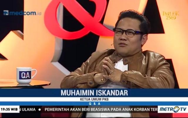 Muhaimin Santai Disindir Jokowi