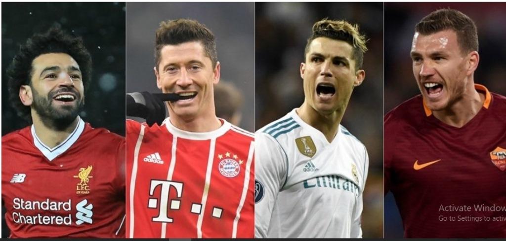 Melihat Komparasi Statistik Salah, Lewandowski, Ronaldo, dan Dzeko di UCL