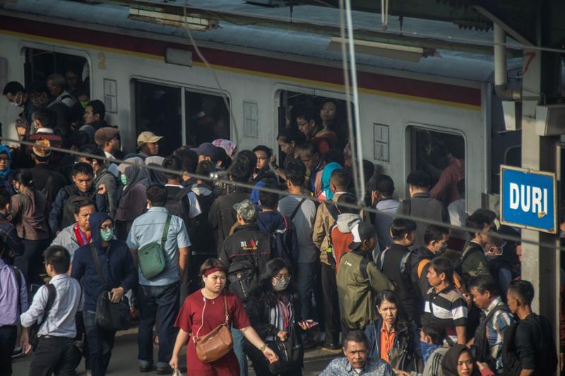 Perjalanan Stasiun Duri-Tangerang Tidak Berkurang