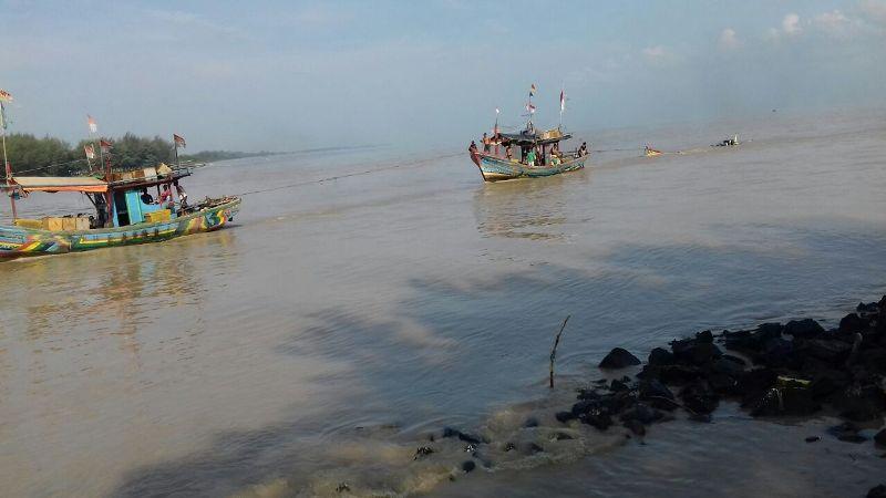 60 Kapal Nelayan di Pemalang Hanyut