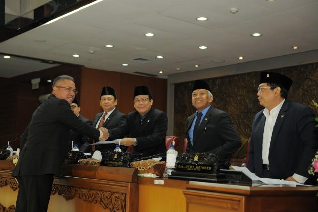 Rapur DPR Setujui RUU AFAS Menjadi Undang-undang