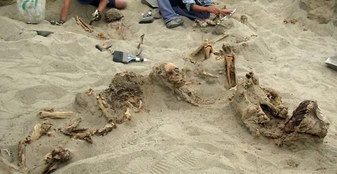Tengkorak 140 Bocah untuk Ritual Ditemukan di Peru