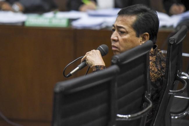 Hakim ke Novanto: Jadi Ada Benjol Sebesar Bakpao?