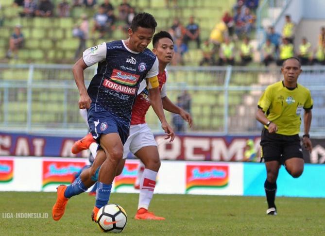 Arema Tuai Kemenangan Perdana di Liga 1 2018