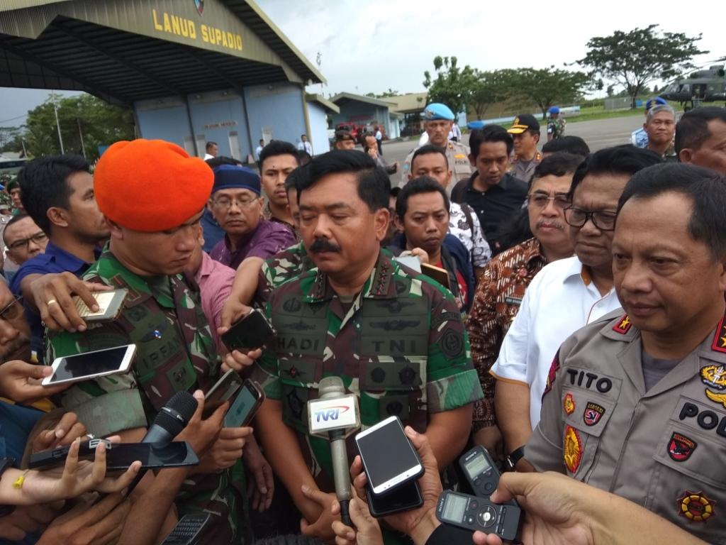 Panglima TNI Temukan Banyak Jalan Tikus di Perbatasan RI-Malaysia