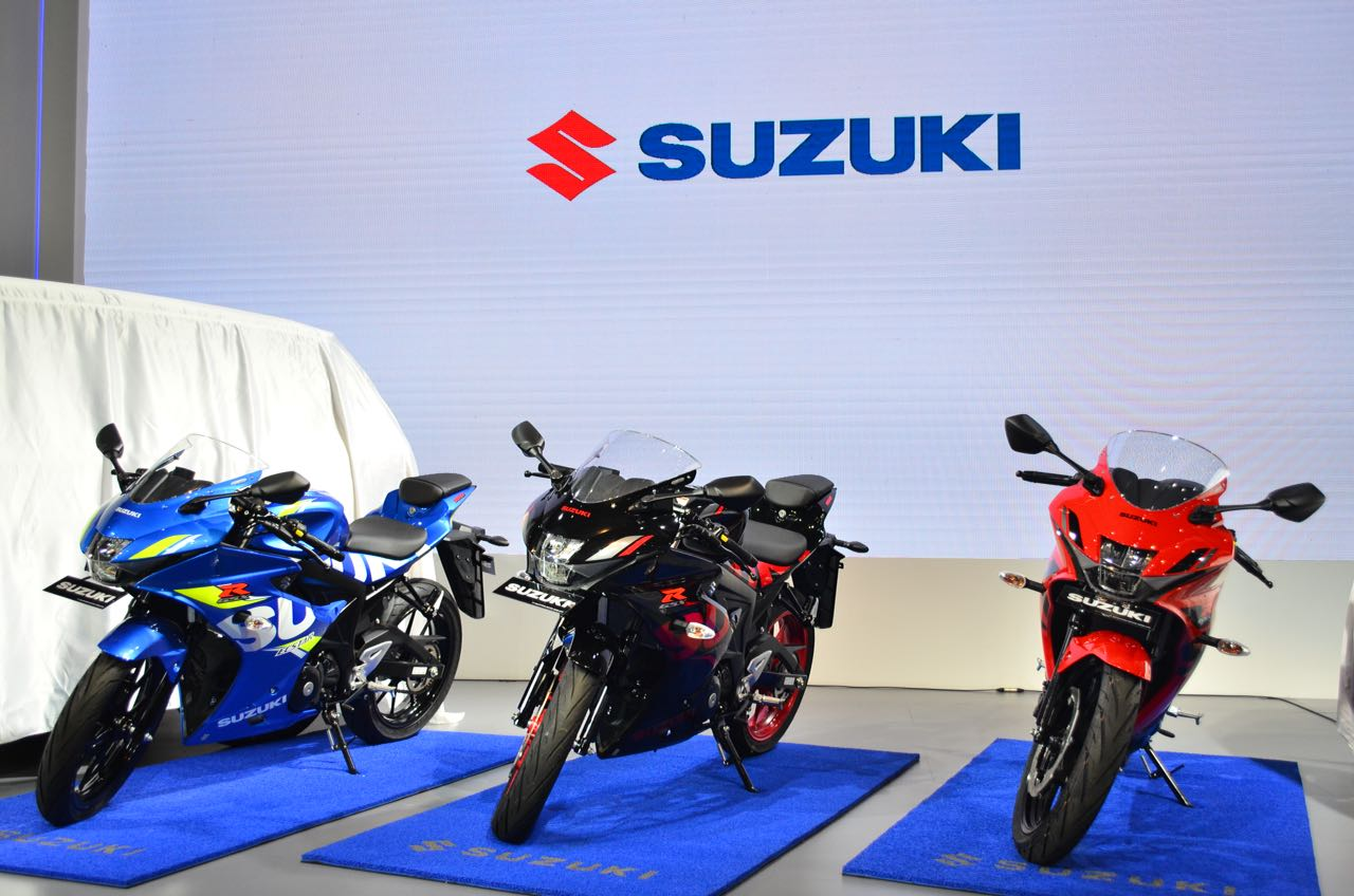 New Suzuki GSX-R150, Menggoda dengan <i>Striping</i> Baru