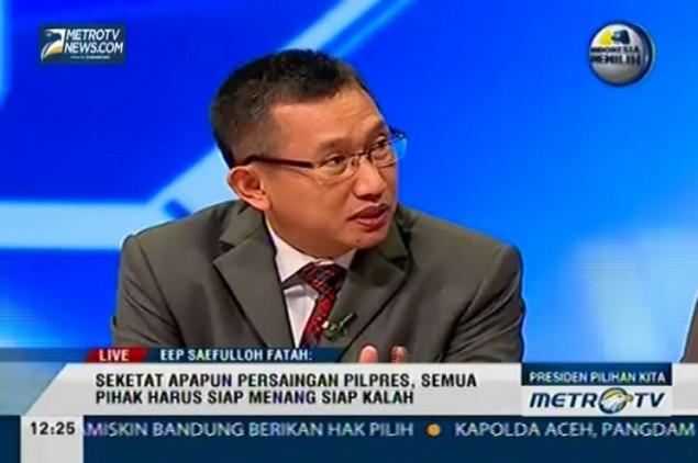 Eep Saefulloh Diklaim Cocok Dampingi Jokowi atau Prabowo