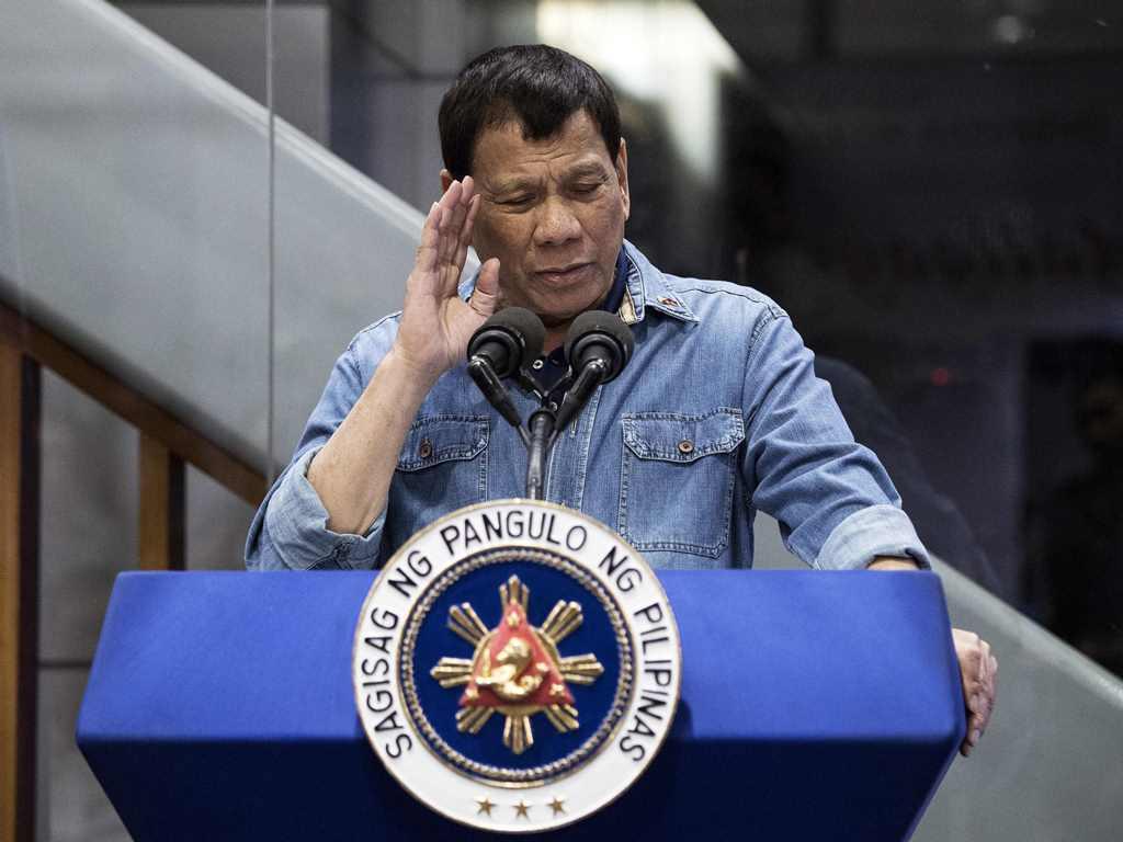 Duterte Sebut Kim Jong-un Pahlawan Semua Orang