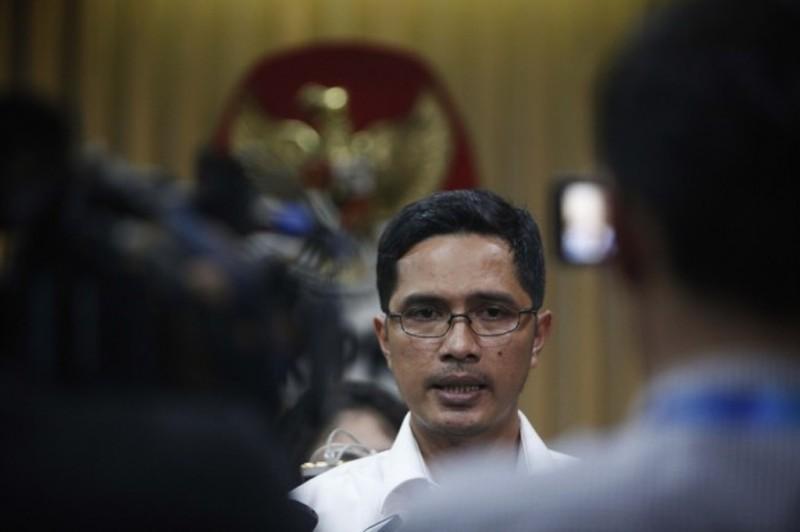 Tersangka Korupsi di Kementan Menjalani Pemeriksaan