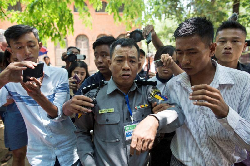 Whistleblowing Myanmar Policeman Sentenced to Jail