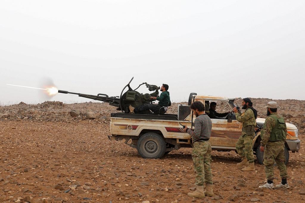 Serangan Udara di Suriah Tewaskan Puluhan Milisi Iran