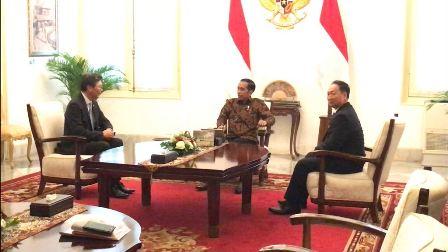 Jokowi Terima Dubes Korut dan Korsel