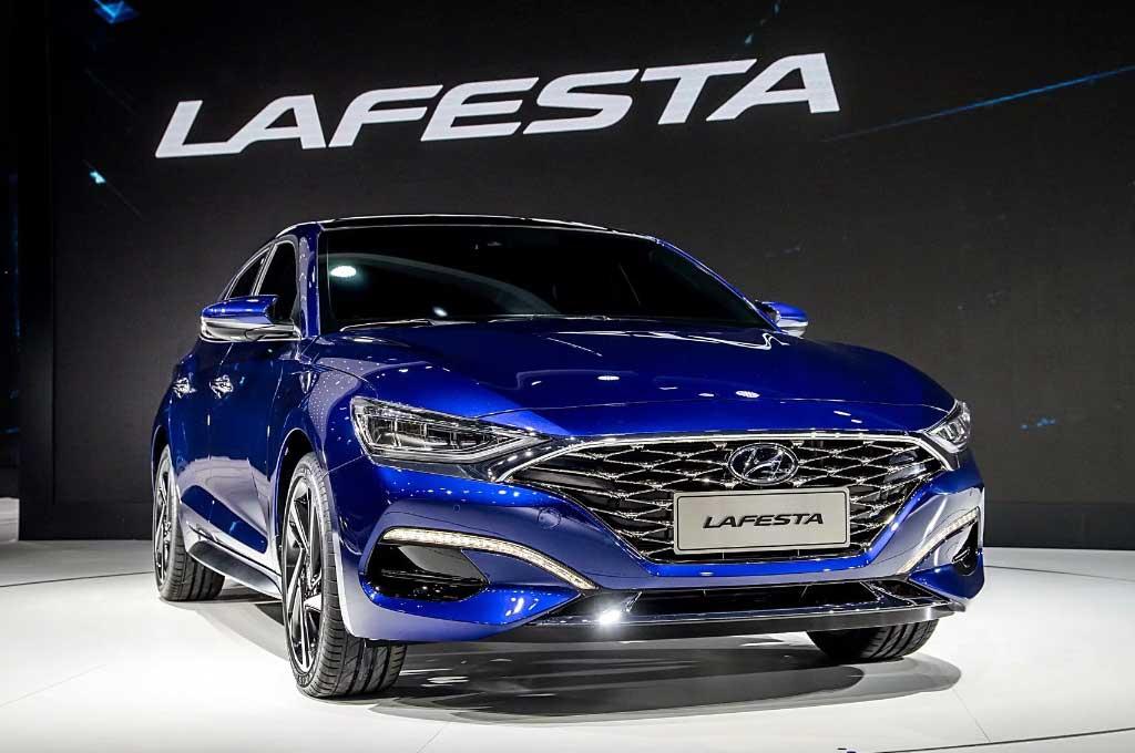 Hyundai Lafena Mejeng di Beijing