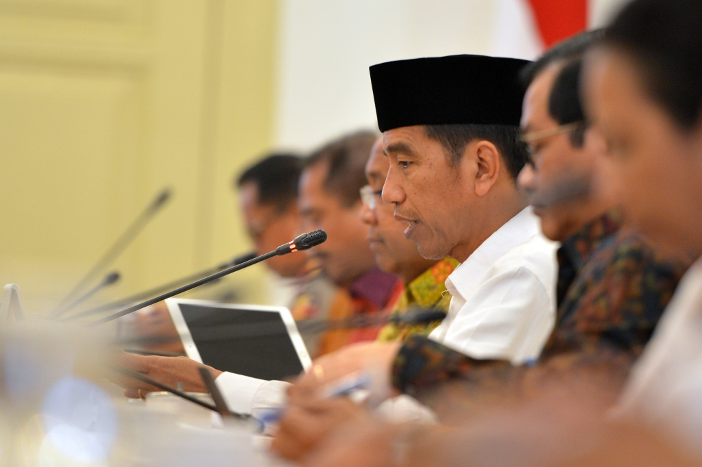 Jokowi Terima Kunjungan Wapres Iran