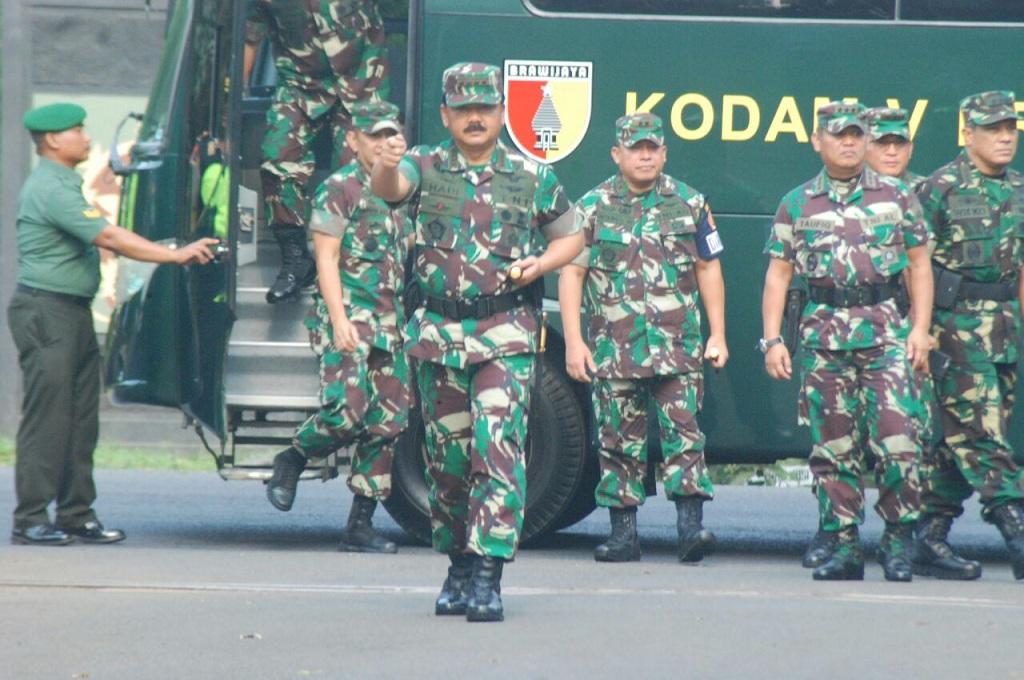 TNI dan Polri Tandatangani MoU Amankan Pemilu