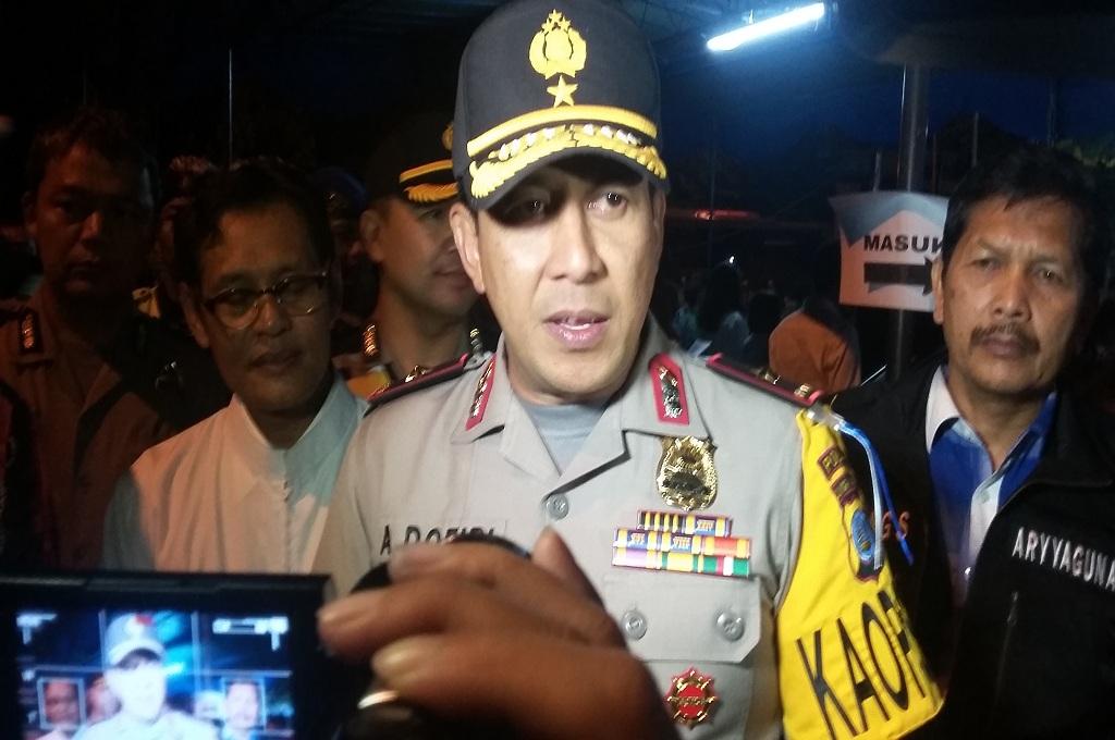 Bom Molotov Dibawa saat May Day di Yogyakarta
