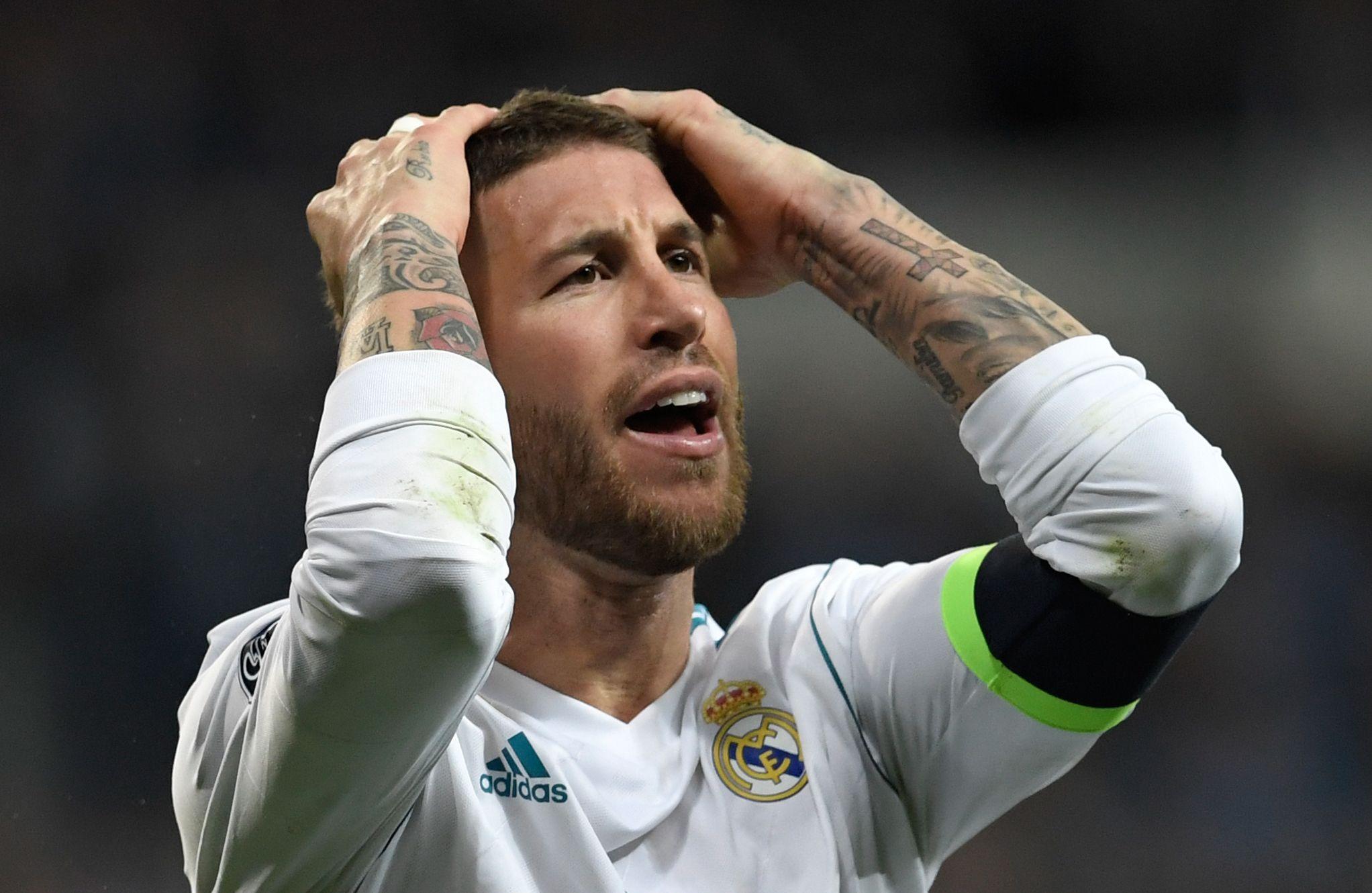Sergio Ramos Akui Real Madrid Menderita Hadapi Muenchen